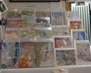 滝田ゆう展 弥生美術館 オリジナル絵はがき売り場