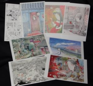 滝田ゆう展 弥生美術館 オリジナル絵はがき8種類